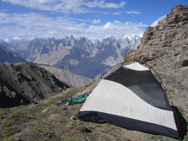 Zdjęcia: Karakorum, Machula La, pkt widokowy  na K2, 5065 m.n.p.m, nocleg w Karakorum, PAKISTAN