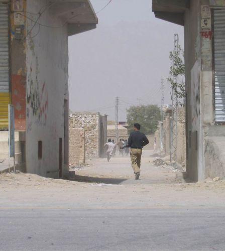 Zdj�cia: Quetta, Pakistan, p� Paksitan, niedaleko granicy z Afganistanem, Zamieszki uliczne ..., PAKISTAN