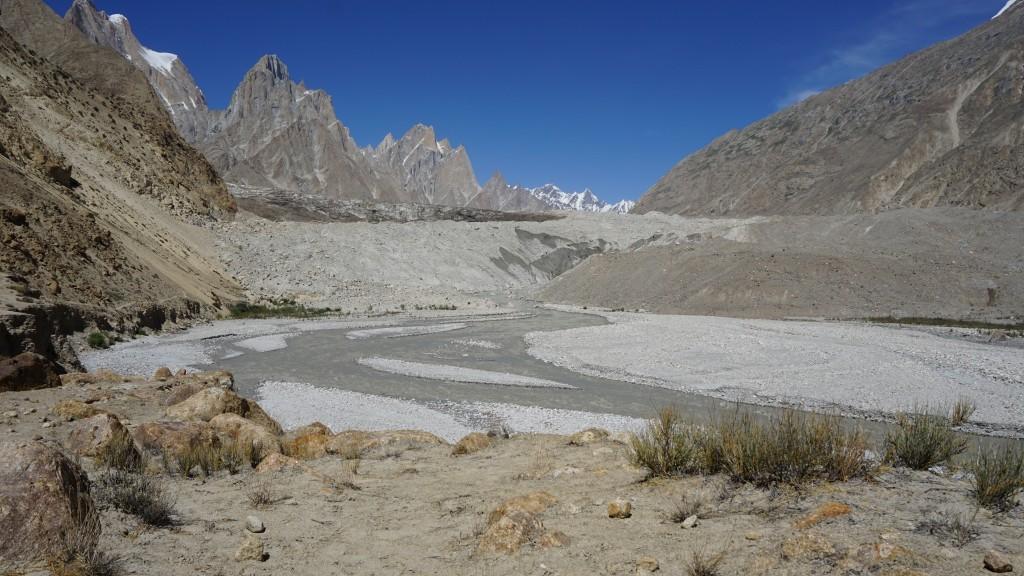 Zdjęcia: Paju, Baltoro, Czoło lodowca , PAKISTAN