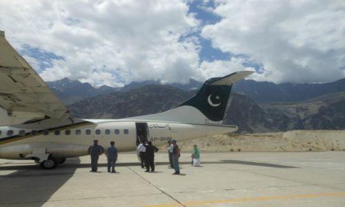Zdjęcie PAKISTAN / Baltistan / Skardu / Lotnisko w Skardu