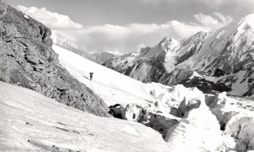 PAKISTAN / dolina shigar / lodowiec chogolungma / Malubiting