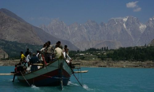 Zdjęcie PAKISTAN / Dolina Hunza / Gulmit / Jezioro Attabad