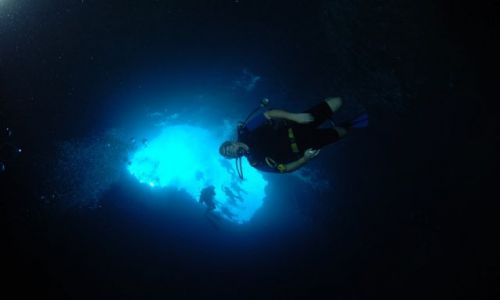 PALAU / - / Blue Holes / Blue Hole