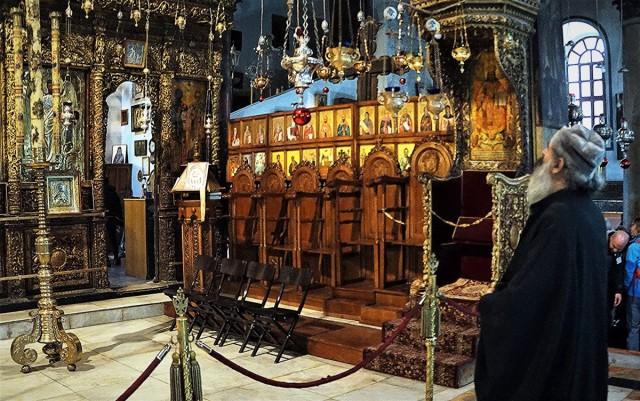 Zdjęcia: Bazylika Narodzenia, Betlejem, Modlitwa, PALESTYNA
