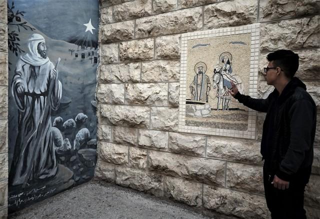 Zdjęcia: Pole Pasterzy, Betlejem, Dzisiaj w Betlejem - Opowieść Michaela, PALESTYNA