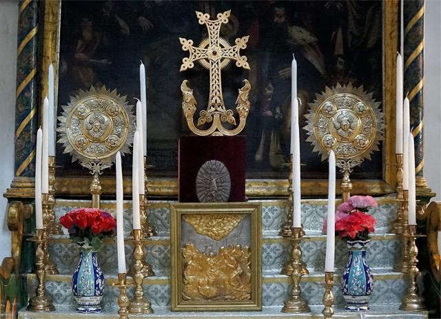 Zdjęcia: Bazylika Narodzenia, Betlejem, Ołtarz ormiański, PALESTYNA