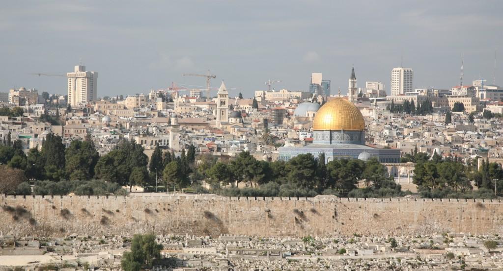 Zdjęcia: Góra Oliwna, Jerozolima, Panorama Jerozolimy, PALESTYNA