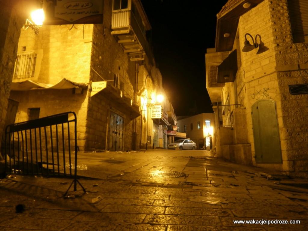 Zdjęcia: Betlejem, Betlejem nocą, PALESTYNA