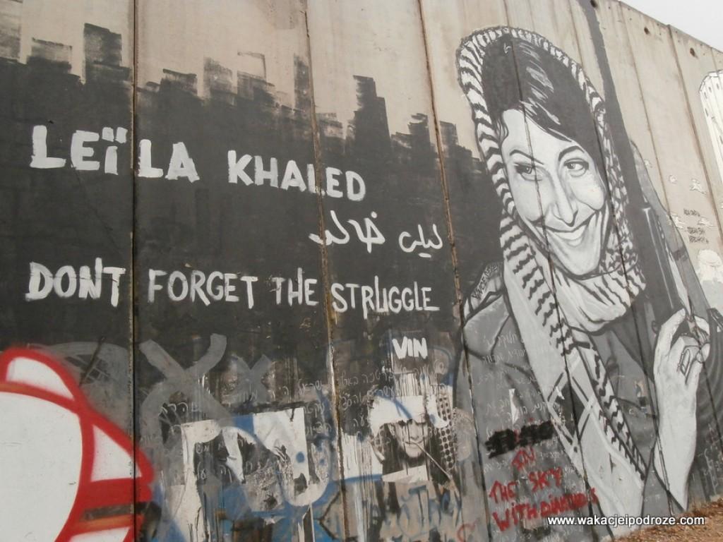 Zdjęcia: Betlejem, Murale w Betlejem, PALESTYNA