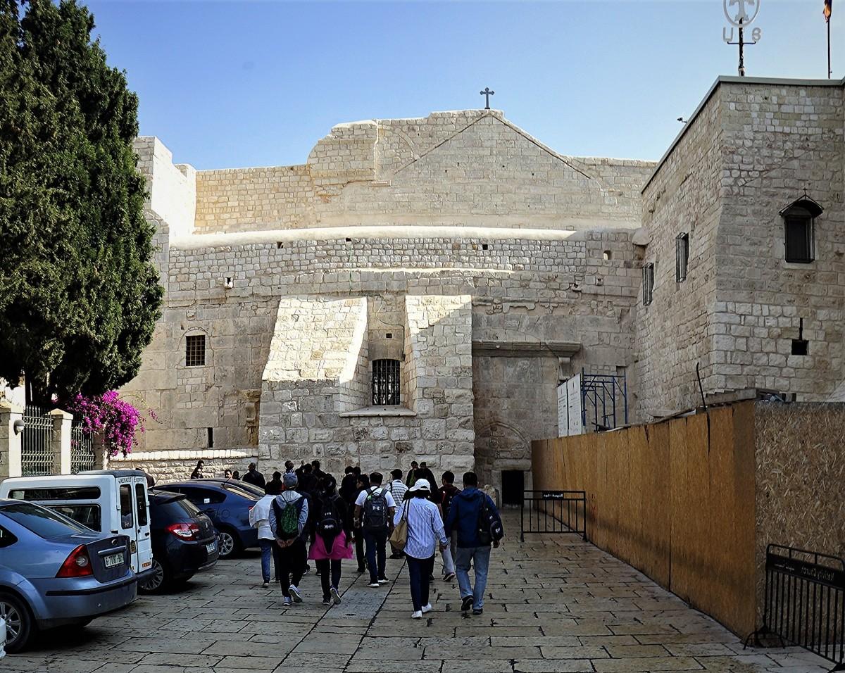 Zdjęcia: Plac Żłóbka, Betlejem, W drodze do Bazyliki Narodzenia, PALESTYNA