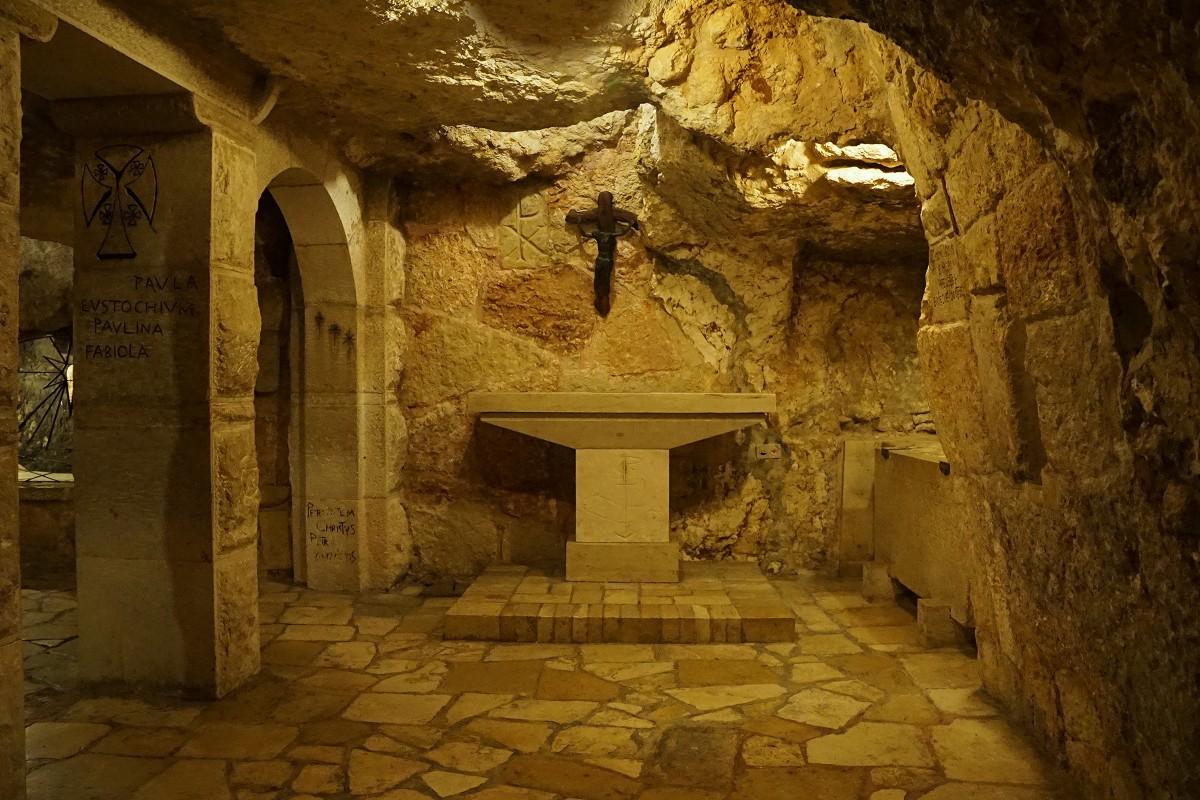 Zdjęcia: Bazylika Narodzenia, Betlejem, Groty - kaplice, PALESTYNA