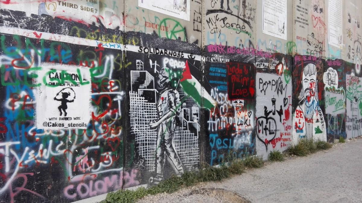 Zdjęcia: Betlejem, Zachodnia część Judei, Polski akcent , PALESTYNA