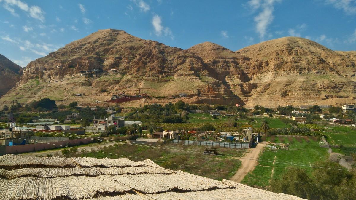 Zdjęcia: Jerycho, Jerycho , Góra kuszenia w obiektywie , PALESTYNA