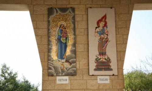Zdjęcie PALESTYNA / Galilea / Bazylika Zwiastowania Pańskiego w Nazaret / Madonny