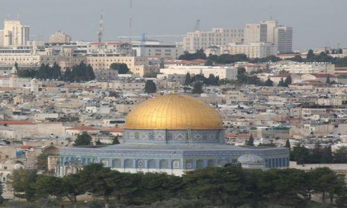 Zdjęcie PALESTYNA / Jerozolima / Wzgórze Świątynne / Meczet Kopuła Skały