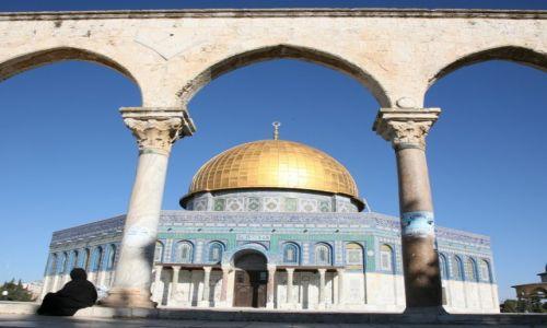 Zdjęcie PALESTYNA / Jerozolima / Stare Miasto / Meczet Kopuły na Skale
