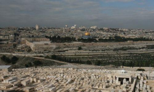 Zdjęcie PALESTYNA / Jerozolima / Góra Oliwna / Panorama miasta