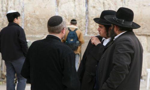 Zdjęcie IZRAEL / Palestyna / Jerozolima / Pod Ścianą Płaczu