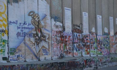Zdjęcie PALESTYNA / - / Betlejem / mur 2