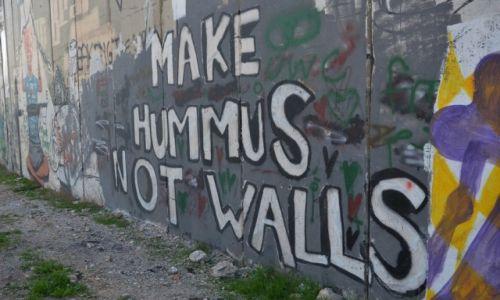 Zdjęcie PALESTYNA / - / Betlejem / mur 3