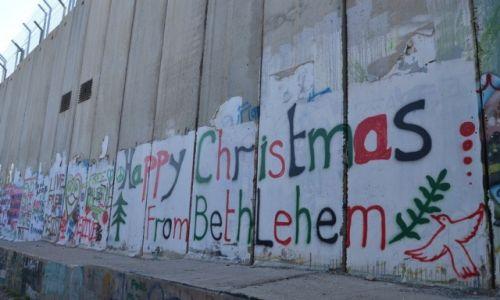 Zdjęcie PALESTYNA / - / Betlejem / mur 4