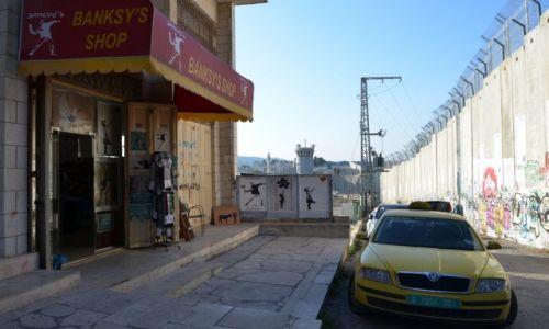 Zdjęcie PALESTYNA / - / Betlejem / mur 5