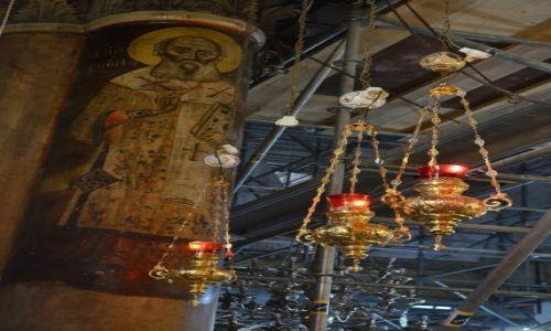 Zdjęcie PALESTYNA / bazylika Narodzenia / Betlejem / lampki oliwne