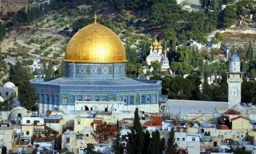 Zdjęcie IZRAEL / Jerozolima / . / Kopuła na Skale