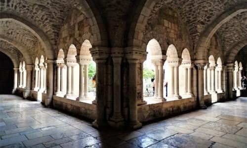 Zdjęcie PALESTYNA / Betlejem / Kościół św. Katarzyny / Korytarz wokół dziedzińca