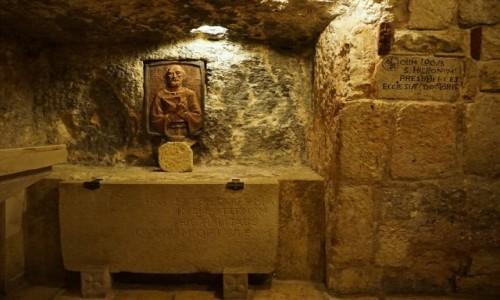 Zdjęcie PALESTYNA / Betlejem / Bazylika Narodzenia / Cela św. Hieronima