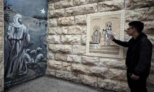 PALESTYNA / Betlejem / Pole Pasterzy / Dzisiaj w Betlejem - Opowieść Michaela
