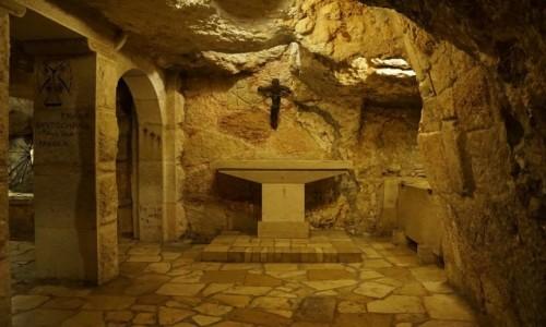 Zdjecie PALESTYNA / Betlejem / Bazylika Narodzenia / Groty - kaplice