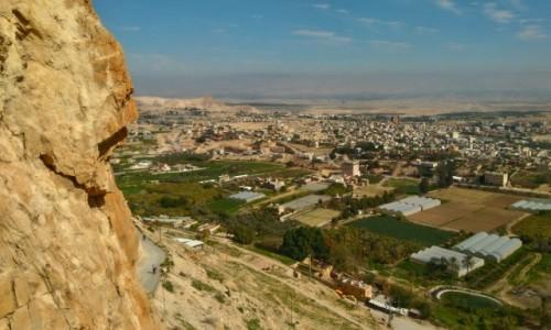 Zdjecie PALESTYNA / Jerycho  / Jerycho / widok na Jerycho z góry kuszenia