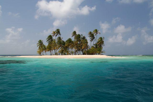 Zdjęcia: Isla de Pelicano, San Blas, rajska wyspa, PANAMA