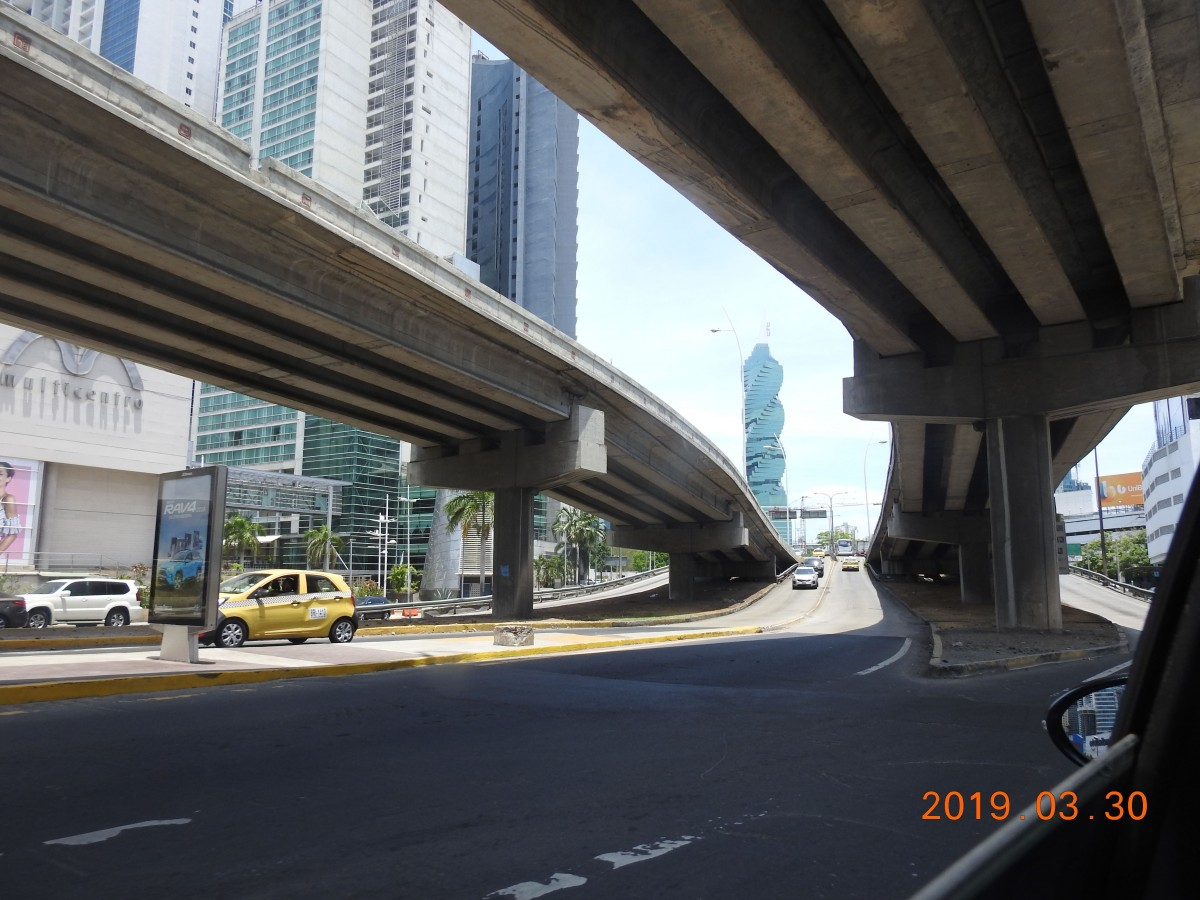 Zdjęcia: Panama City, Przejażdżka po stolicy Panama City, PANAMA