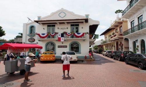 Zdjęcie PANAMA / Panama Casco viejo / Panama city / Casco Viejo