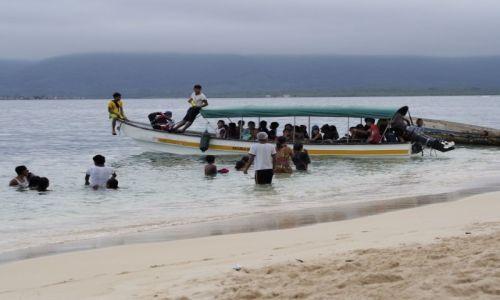 Zdjęcie PANAMA / San Blas / Narranjo Chico / school boat