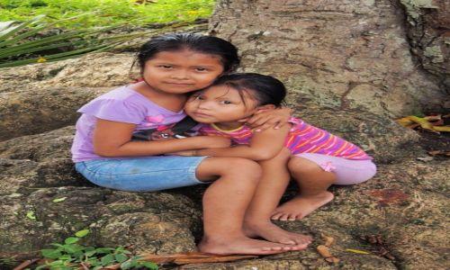 Zdjęcie PANAMA / Bocas del Toro / Solarte / dzieci