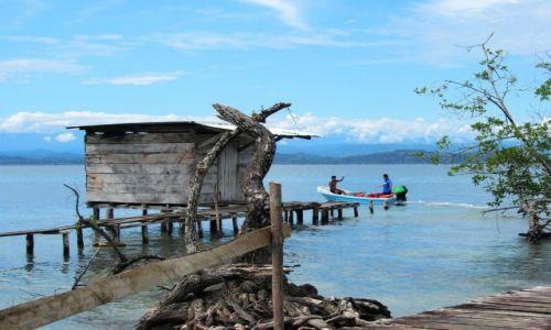 Zdjęcie PANAMA / Bocas del Toro / Solarte / wioska