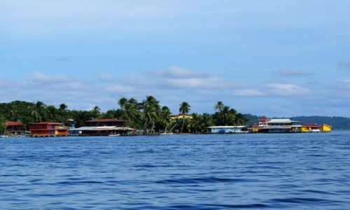 PANAMA / Bocas del toro / Bocas Town / Karaiby