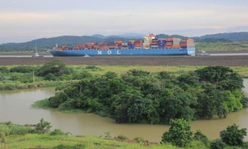 Zdjęcie PANAMA / Panama / Kanal Panamski / Now kanal panamski