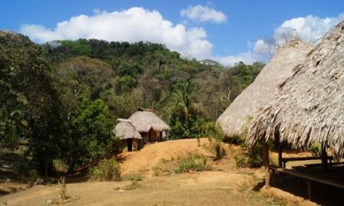 PANAMA / Park Narodowym Chagres / Park Narodowym Chagres / Wieś Indian Embera