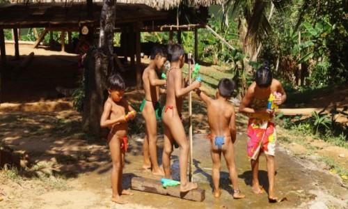 Zdjecie PANAMA / Park Narodowy Chagres / Park Narodowy Chagres / Przygotowania do Wielkanocy?