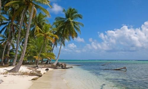 Zdjęcie PANAMA / Kuna Yala / San Blas / Najpiękniejsza plaża San Blas