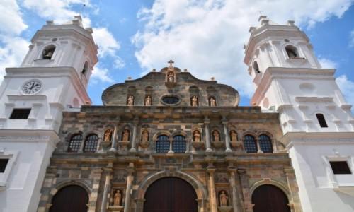 Zdjecie PANAMA / Panama City / Casco Viejo / Katedra Santa Maria la Antiqua