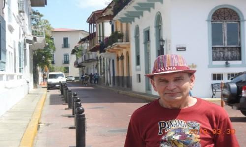 Zdjecie PANAMA / - / Panama City / Spacer po starej zabudowie
