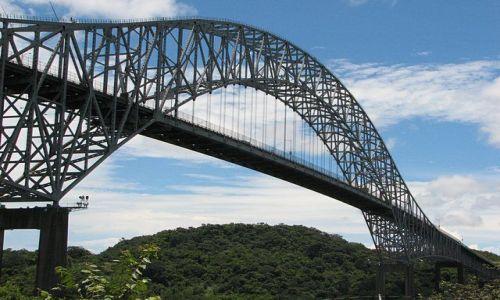 Zdjecie PANAMA / Panama City / brak / Most Ameryk