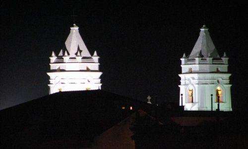 Zdjecie PANAMA / Panama City / Casco Viejo (San Felipe) / Dwie wieże