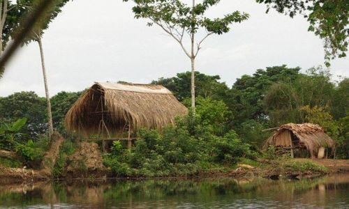 Zdjęcie PANAMA / Bocas del Toro / brak / Płynąc do Changuinola 2