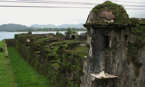 Zdjęcie PANAMA / Colon Province / Portobelo - Bateria Santiago / Hiszpańskie pamiątki...
